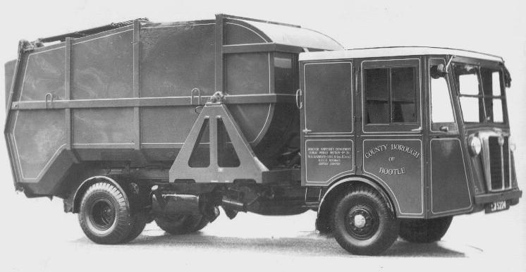 Shelvoke e Drewry truck muletti W%20B&W